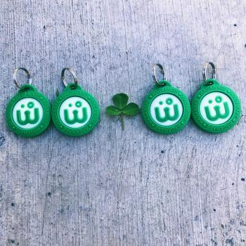 Green Clover Charms